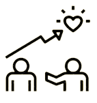 Icon of people helping